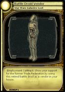 Battle Droid Vendor (card)