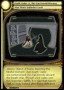 Darth Vader vs. Obi-Wan Kenobi Diorama (card)