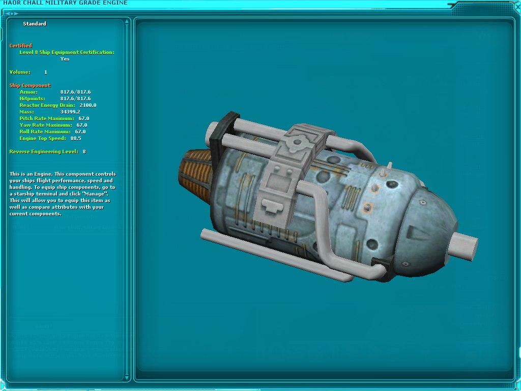 Haor Chall Military Grade Engine