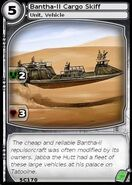 Bantha-II Cargo Skiff (card)
