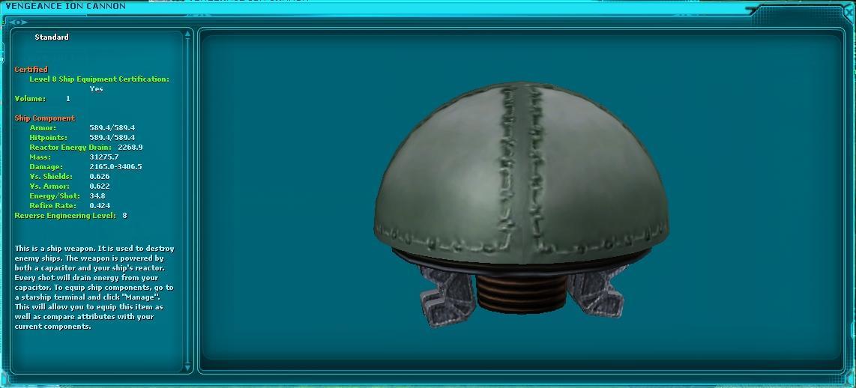 Vengeance Ion Cannon