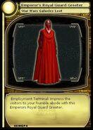 Emperor's Royal Guard Greeter (card)