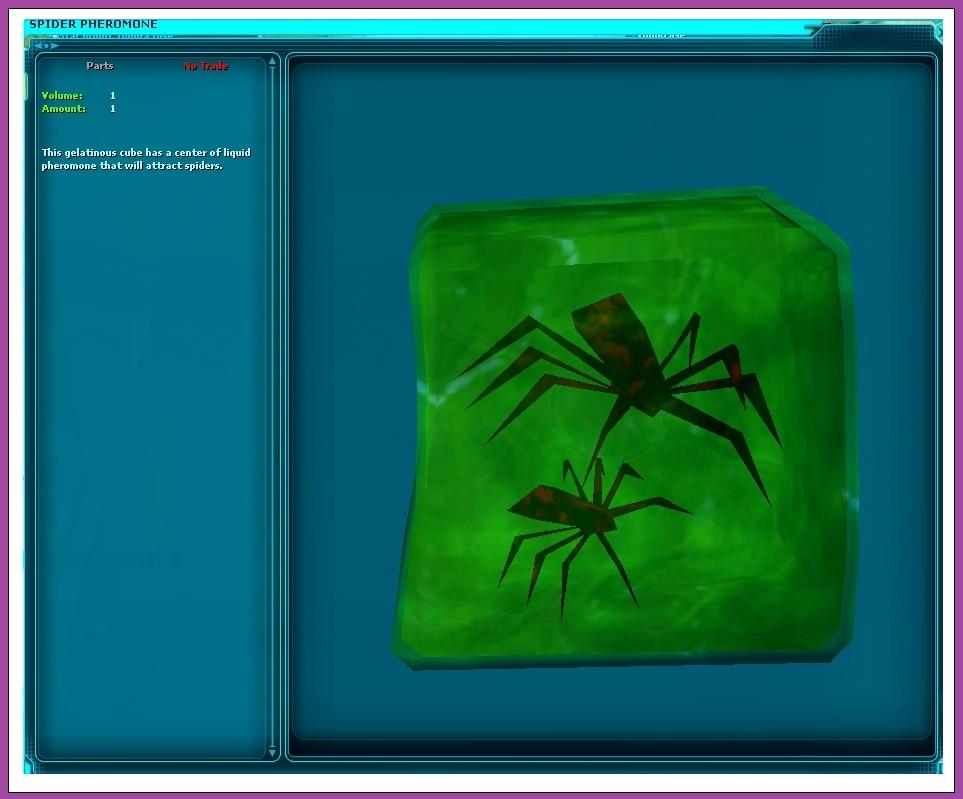 Spider Pheromone