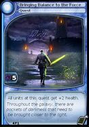 Bringing Balance to the Force (card)
