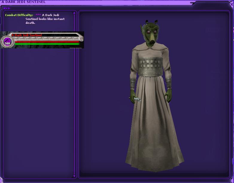 Dark Jedi Sentinel