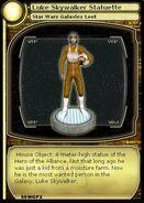 Luke Skywalker Statuette (card)