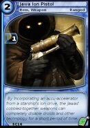 Jawa Ion Pistol (card)