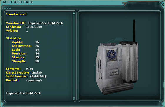 Imperial Ace Field Pack