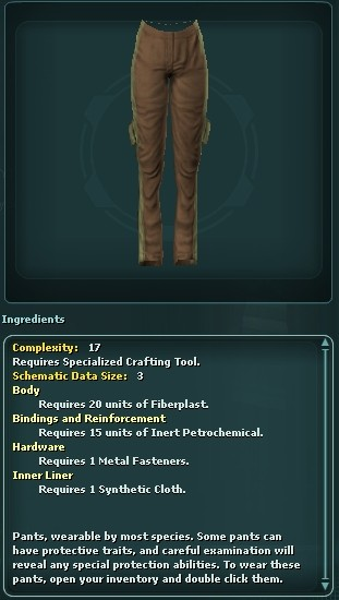 Large Pocket Pants