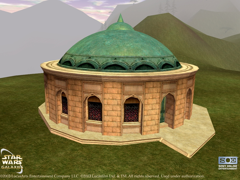 Small Naboo House (Style 2)