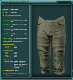 Alliance Cold Weather Leggings