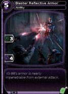 Blaster Reflective Armor (card)