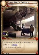 Lady Hutt's Delivery (card)
