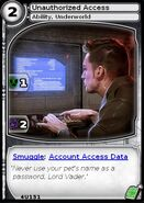 Unauthorized Access (card)