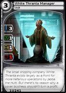White Thranta Manager (card)