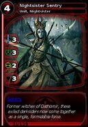 Nightsister Sentry (card)