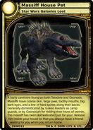 Massiff House Pet (card)