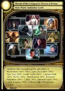 Threat of the Conqueror Choose a Promo (card)