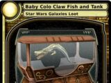 Baby Colo Claw Fish and Tank