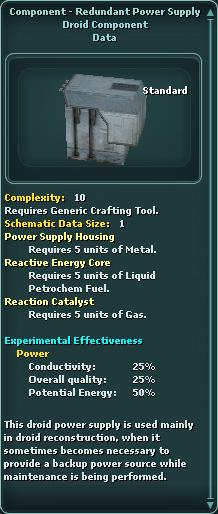 Component - Redundant Power Supply