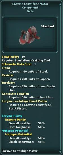 Enzyme Centrifuge Motor