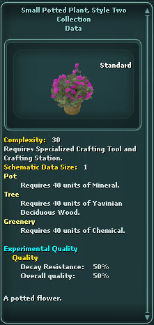Small Potted Plant Style 2