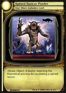 Spiked Rancor Poster (card)