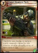 Rebel Weapons Tech (card)