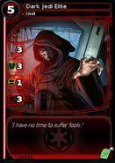 Dark Jedi Elite (card)