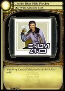 Lando Blue Milk Poster (card)