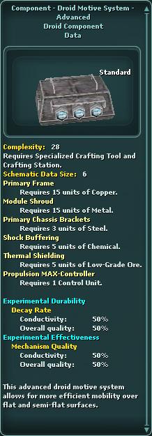 Component - Droid Motive System - Advanced