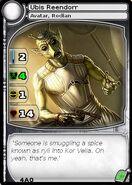 Ubis Reendorr (Avatar) (card)