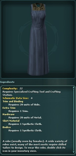 Robe (Crafted)