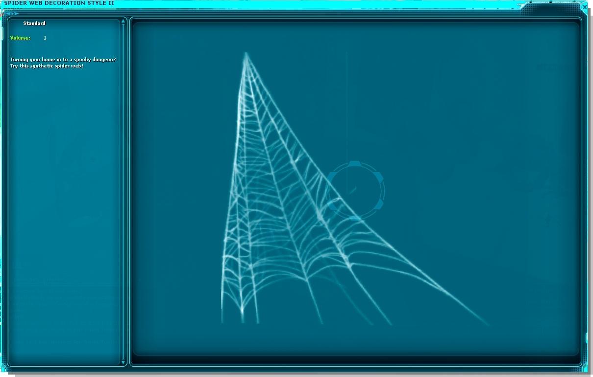 Spider Web Decoration Style II