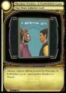 Theater Poster - A Forbidden Love (card)