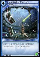 Lightsaber Mastery (card)