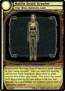 Battle Droid Greeter (card)
