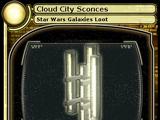 Cloud City Sconces