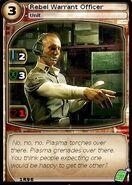 Rebel Warrant Officer (card)