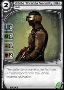 White Thranta Security Elite (card)
