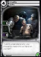 Cruelty (card)