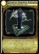 Emperor Palpatine Statuette (card)