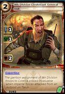 8th Division Lieutenant General (card)
