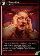 Force Fear (card)