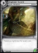 Engineer Sword (card)