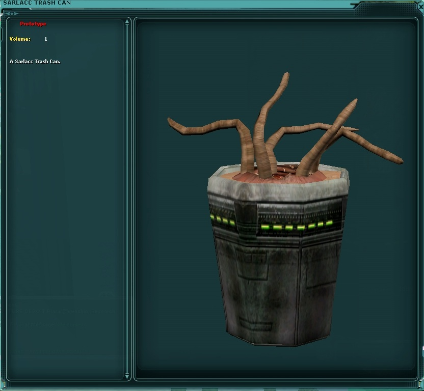 Sarlacc Trash Can