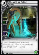 Thought as Action (card)