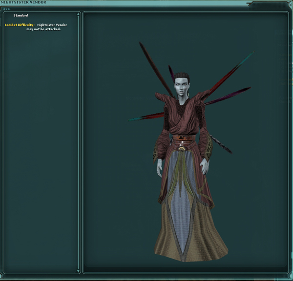 Nightsister Vendor (Witches of Dathomir)
