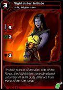 Nightsister Initiate (card)