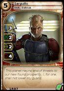 Sarguillo 1 (card)